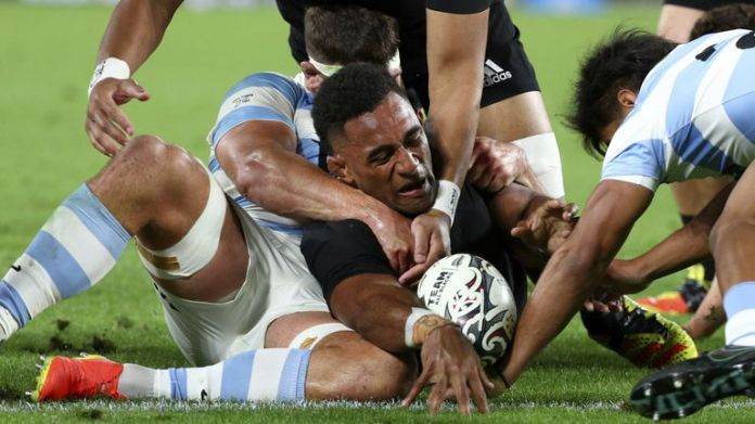 New Zealand secured a comfortable 39-0 victory over Argentina in their Rugby Championship clash.