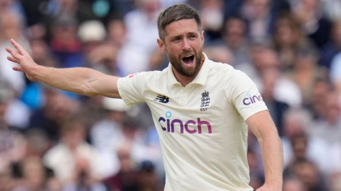 Chris Woakes took four wickets at The Oval on his return to the England Test side