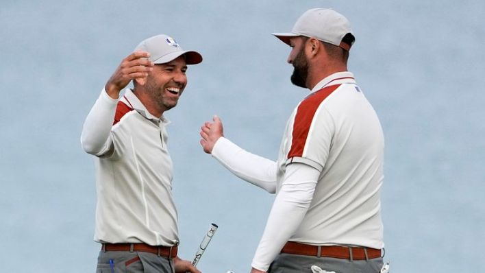 Sergio Garcia and Jon Rahm have been Europe's star performers