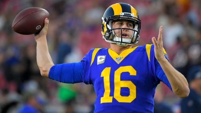 Jared Goff has been running the Rams' offense for the last four seasons but his play declined after their Super Bowl loss