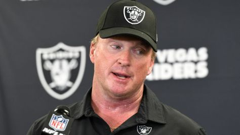 ESPN's Adam Schefter and Booger McFarland discuss Jon Gruden's decision to resign as head coach of the Las Vegas Raiders in the wake of further allegations of offensive emails.