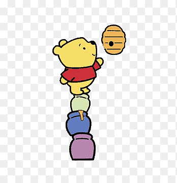 Disney Cute Winnie The Pooh Illustration Png Pngegg