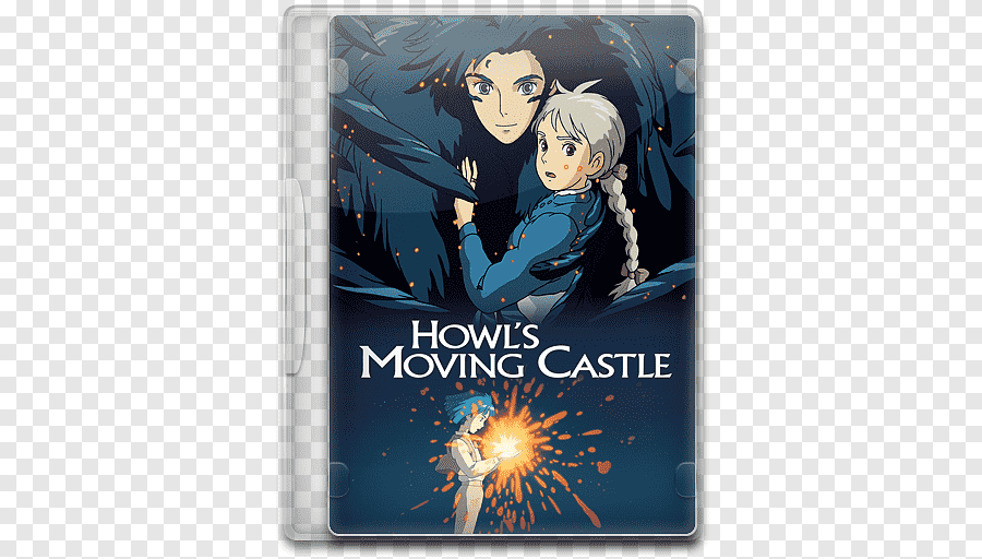 moving castle movie poster png