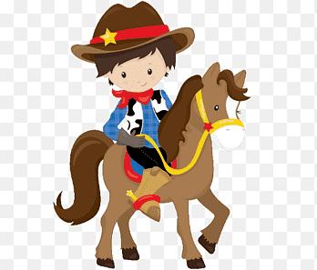 cowboy western cartes de voeux