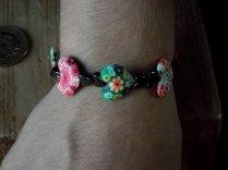 Heartand hematite bracelet