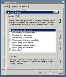 Windows Firewall Ping