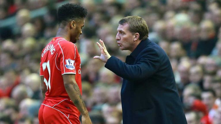 Sterling reportedly told Rodgers he didn't want to play for him - something Liverpool deny