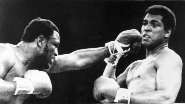 Ali fought Joe Frazier in the Thriller in Manila in 1975