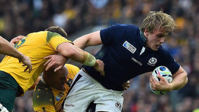 Jonny Gray has been awarded the Glasgow captaincy this season