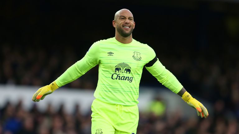 Image result for tim howard everton jersey