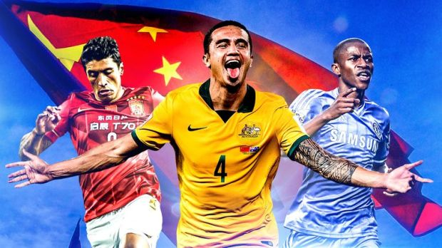 Paulinho, Tim Cahill and Ramires are among those embracing life in China
