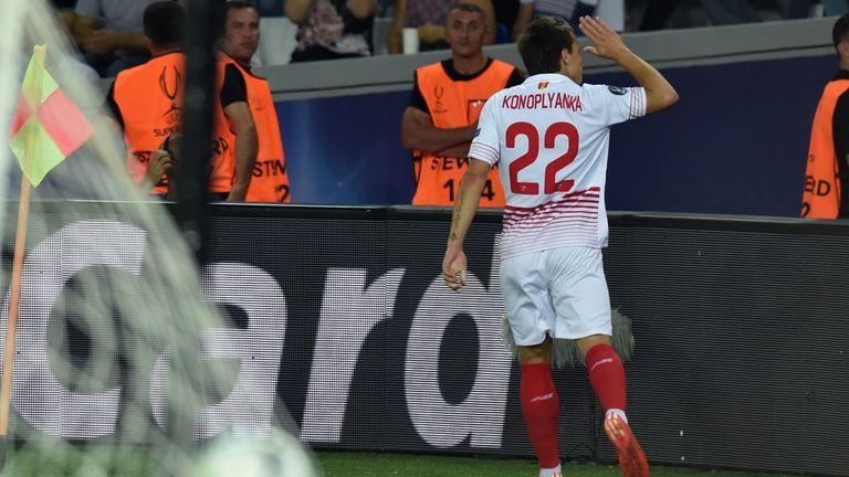 Yevhen Konoplyanka is in Ukraine's squad for the finals in France