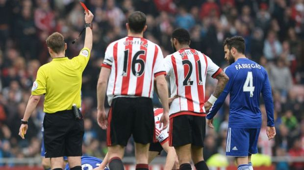 It will now be possible to get a red card before the match starts