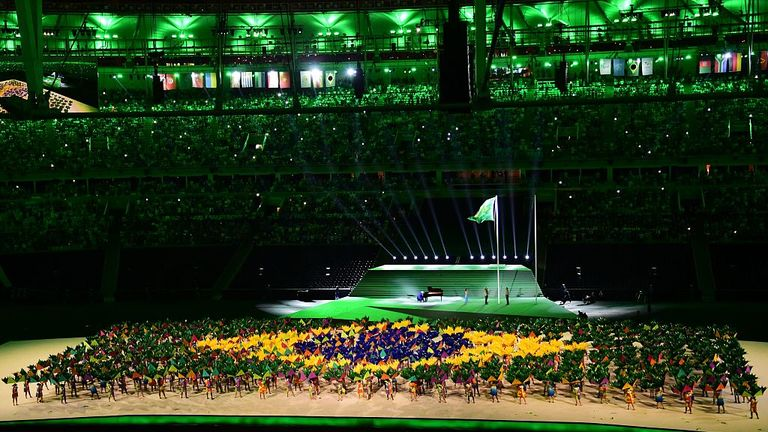 It was a spectacular opening ceremony in Rio on Wednesday