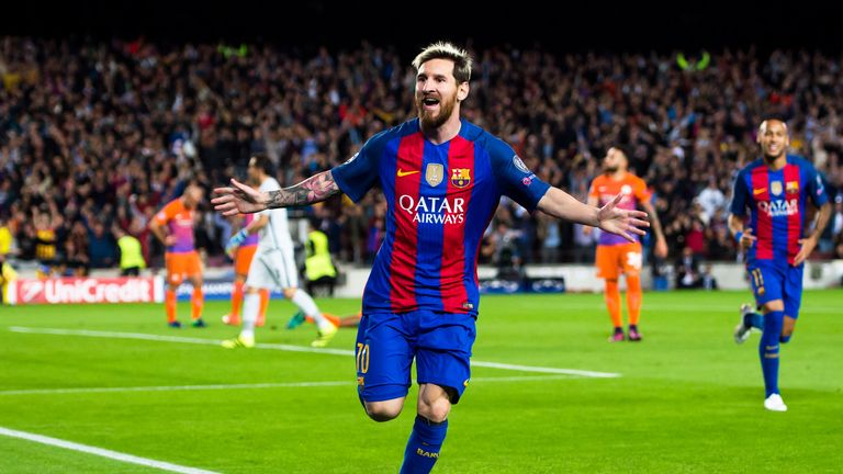 Image result for Messi has 'X-ray' vision – Guardiola
