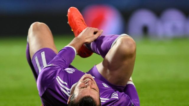 Bale suffered the injury against Sporting Lisbon in the Champions League