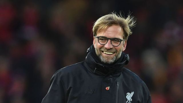 Liverpool manager Jurgen Klopp was all smiles after watching his side beat Watford 6-1