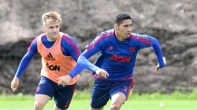 Luke Shaw and Chris Smalling have been backed by England interim manager Gareth Southgate