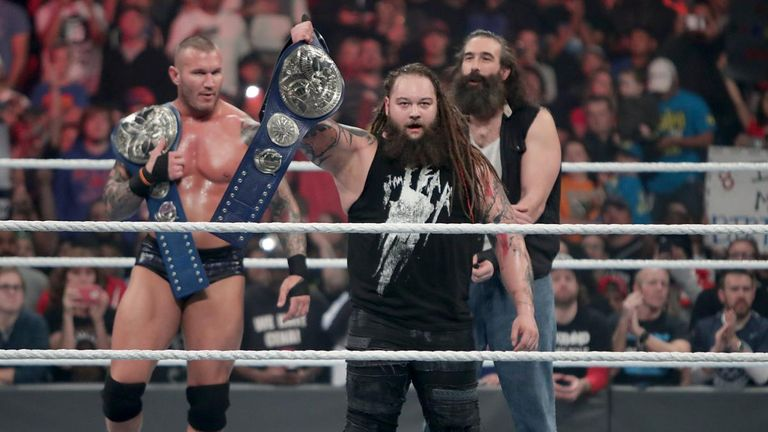Image result for bray wyatt tag titles