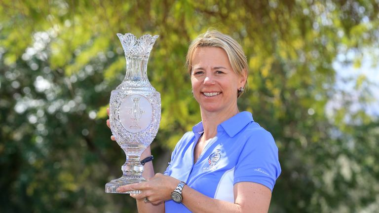 Annika Sorenstam will captain the European side at this year's Solheim Cup