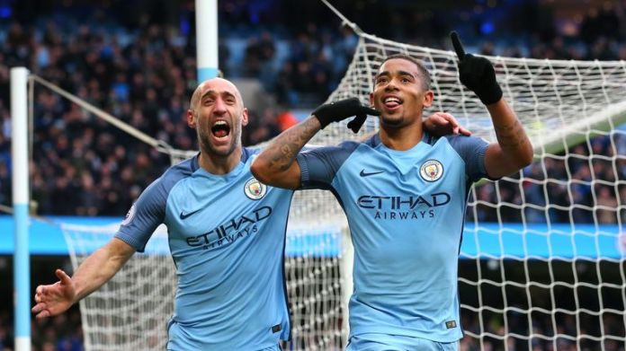 Gabriel Jesus faces 12 weeks on the sidelines with a fractured metatarsal