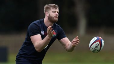 George Kruis has been ruled out of Saturday's game against France