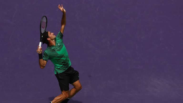 Federer's victory in Florida means he has claimed three titles in 2017