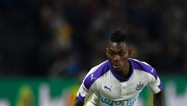 Christian Atsu spent last season on loan at Newcastle