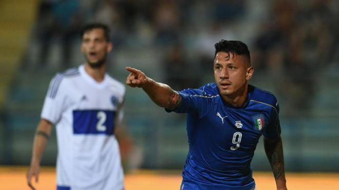 Gianluca Lapadula is another player reportedly on Everton's summer wish list