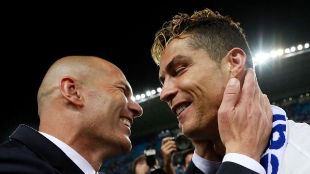 Zinedine Zidane has got the best out of Cristiano Ronaldo this season