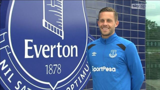 Gylfi Sigurdsson has become Everton's record signing