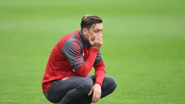 Ozil is yet to register a goal or an assist for Arsenal this season