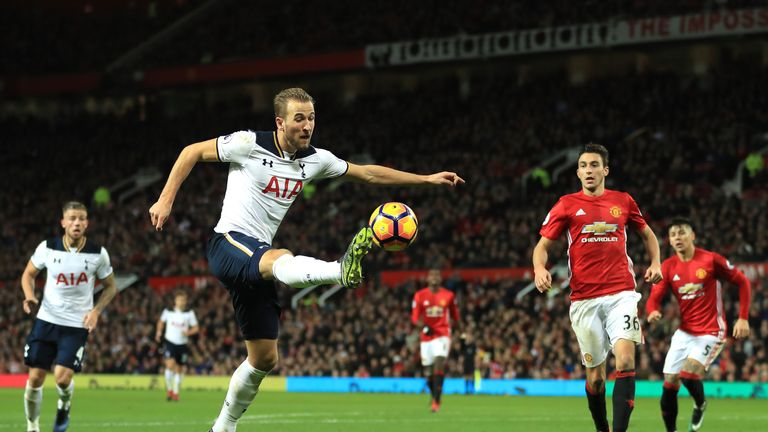 Can Harry Kane score at Old Trafford at the fifth time of asking?