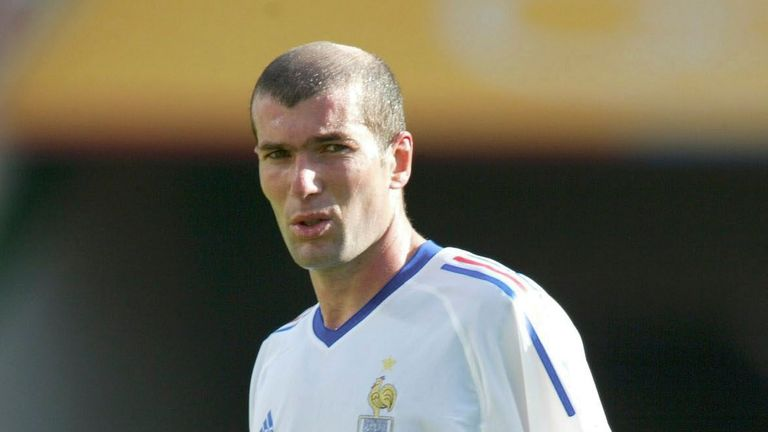Zinedine Zidane was on Man United's radar in 1995