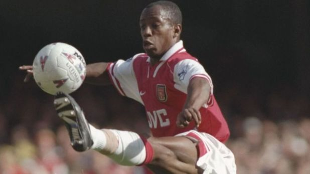 Wright scored 185 goals in 288 Arsenal appearances