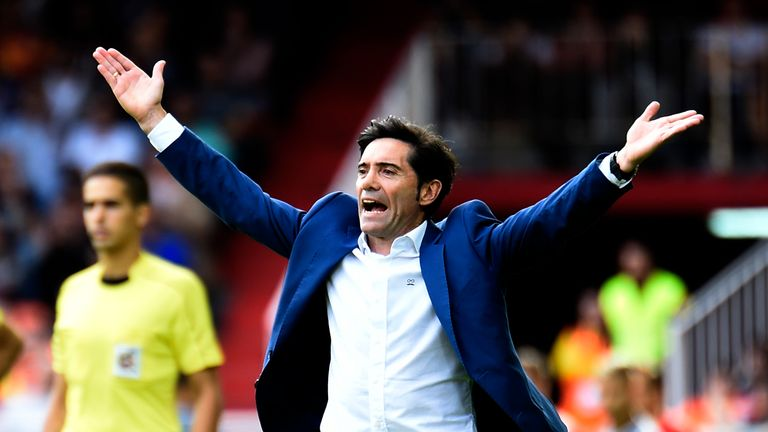 Marcelino leaves Valencia after two seasons in charge