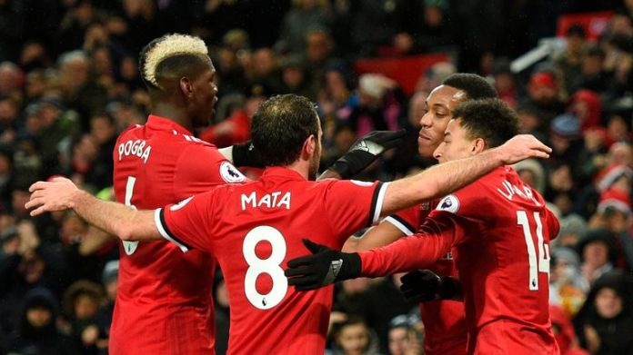Manchester United face Huddersfield on Saturday