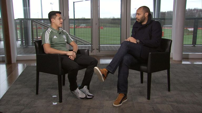 "Sanchez told Henry he joined United to ""win everything"""