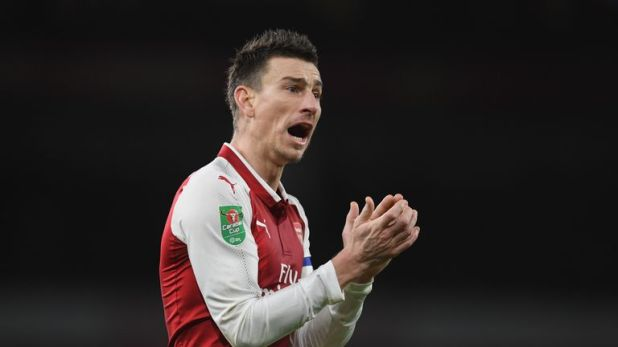 Laurent Koscielny has not played for Arsenal this season due to injury