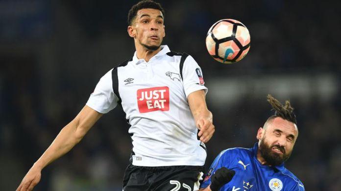 Blackman zagrał 23 mecze ligowe dla Derby od 2016 do 2019