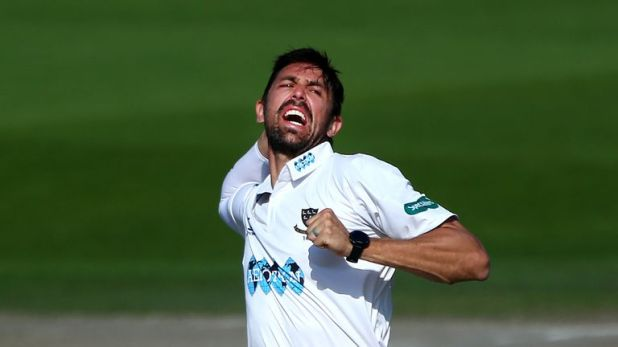 David Wiese helped Sussex skittle Durham in the morning session