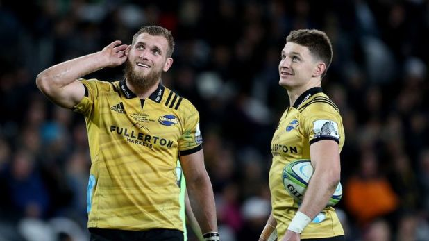 Brad Shields and Beauden Barrett won a Super Rugby title together with the Hurricanes in 2016