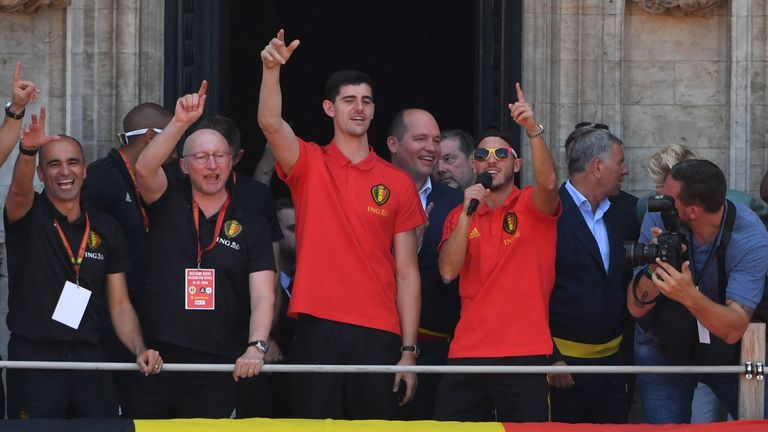 Sarri has a job to do convincing Thibaut Courtois and Eden Hazard to stay at Chelsea after they return from the World Cup