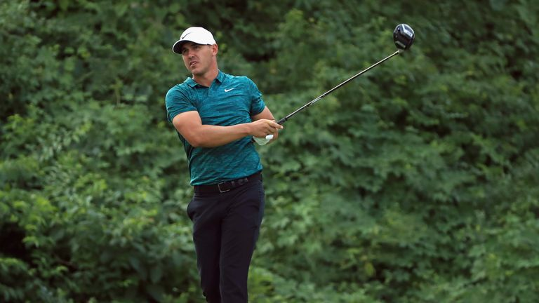 Koepka is only the fifth man to win US Open and PGA titles in the same year