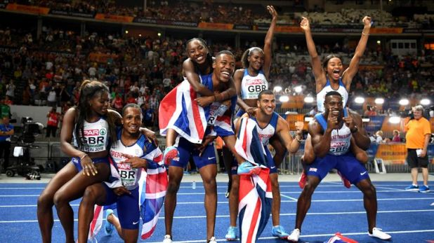 GB's women and men wrapped up the European Championships in golden style
