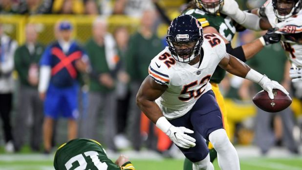 Khalil Mack starred for the Bears against the Packers