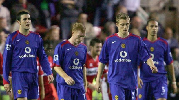 John O'Shea, Darren Fletcher and Rio Ferdinand bore the brunt of Keane's analysis of their defeat at Middlesbrough in 2005