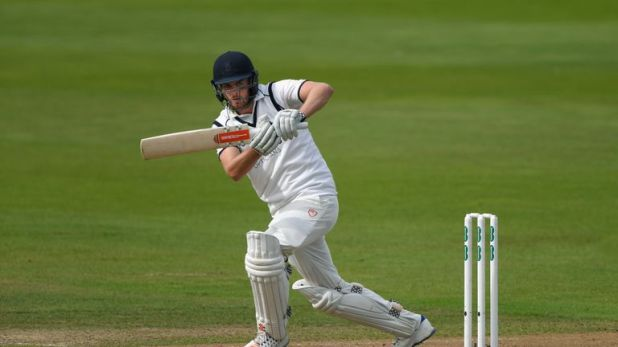 Dominic Sibley stretched his run of consecutive centuries to six first-class games