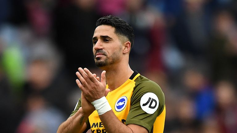 Beram Kayal has agreed a new deal with Brighton