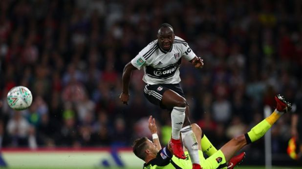 Neeskens Kebano is renowned in the Fulham dressing-room for his attire